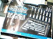 POWER TORQUE Sockets/Ratchet 62 PIECE SOCKET SET